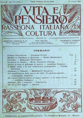 VITA E PENSIERO - 1916 - 7