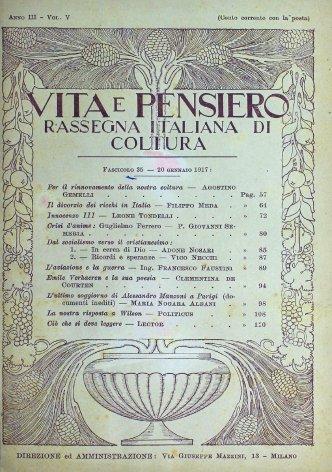 VITA E PENSIERO - 1917 - 1 (2)