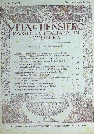 VITA E PENSIERO - 1917 - 9