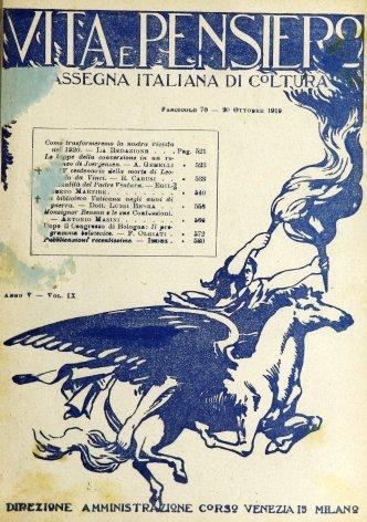 VITA E PENSIERO - 1919 - 10
