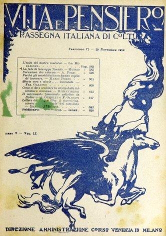 VITA E PENSIERO - 1919 - 11