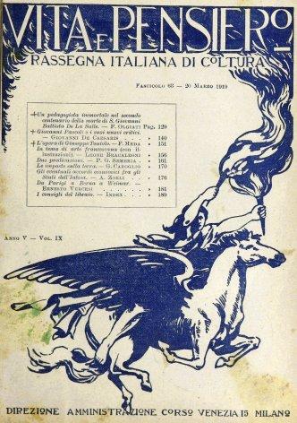 VITA E PENSIERO - 1919 - 3