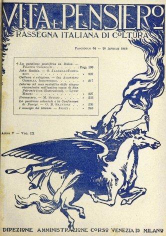 VITA E PENSIERO - 1919 - 4