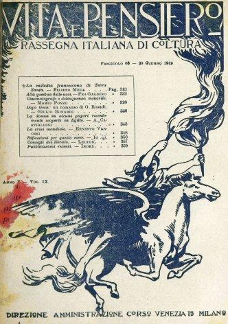VITA E PENSIERO - 1919 - 6