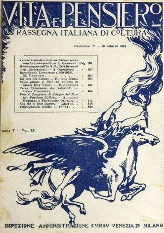 VITA E PENSIERO - 1919 - 7