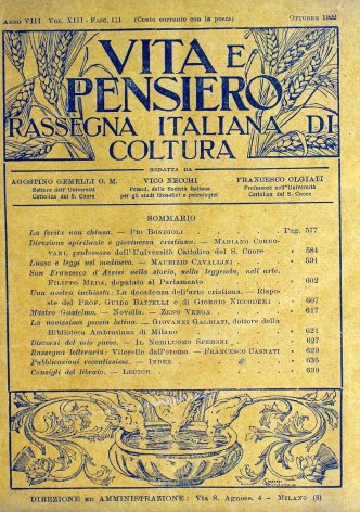 VITA E PENSIERO - 1922 - 10