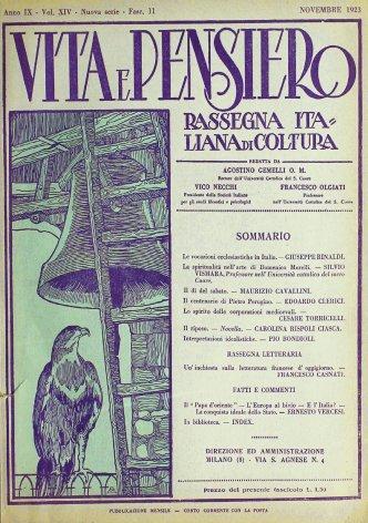 VITA E PENSIERO - 1923 - 11