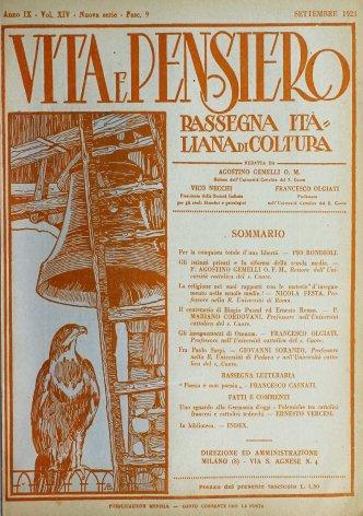 VITA E PENSIERO - 1923 - 9