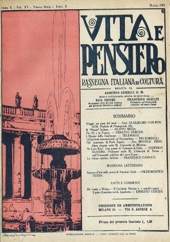 VITA E PENSIERO - 1924 - 3