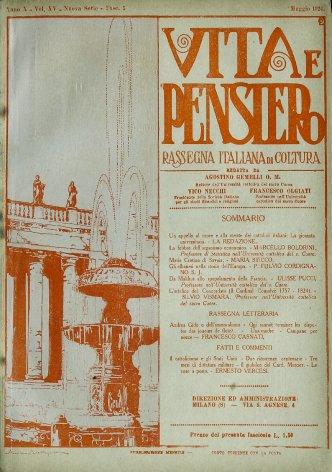 VITA E PENSIERO - 1924 - 5