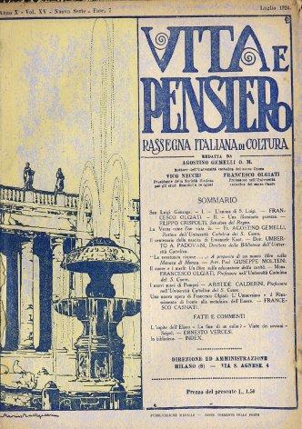 VITA E PENSIERO - 1924 - 7
