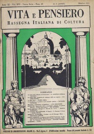 VITA E PENSIERO - 1925 - 10
