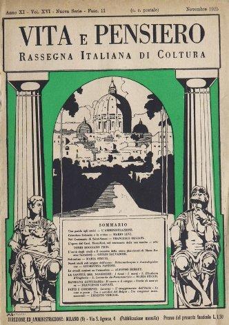 VITA E PENSIERO - 1925 - 11