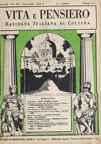 VITA E PENSIERO - 1925 - 2