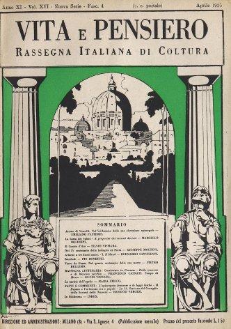 VITA E PENSIERO - 1925 - 4