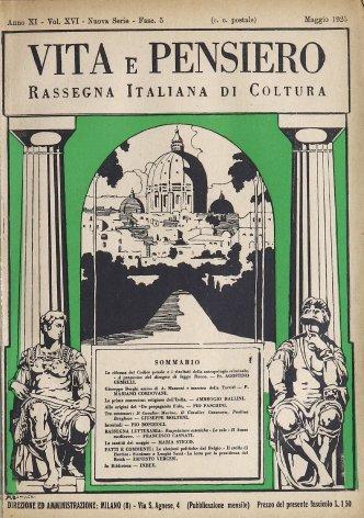 VITA E PENSIERO - 1925 - 5