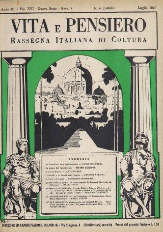 VITA E PENSIERO - 1925 - 7