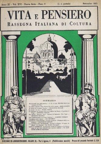 VITA E PENSIERO - 1925 - 9