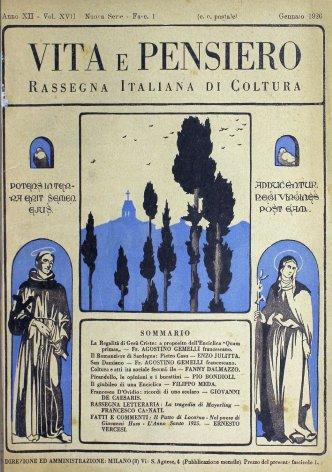 VITA E PENSIERO - 1926 - 1