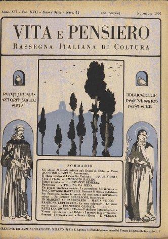 VITA E PENSIERO - 1926 - 11