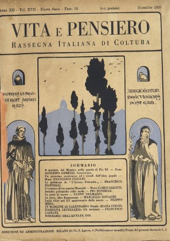VITA E PENSIERO - 1926 - 12