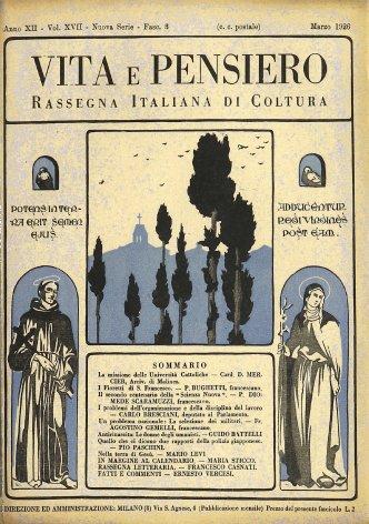 VITA E PENSIERO - 1926 - 3