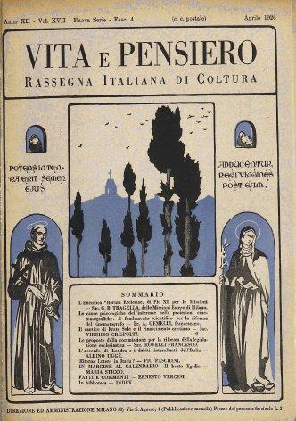 VITA E PENSIERO - 1926 - 4