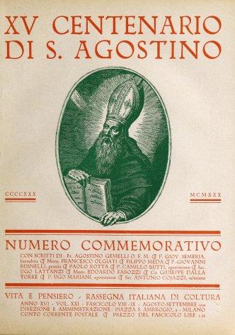 VITA E PENSIERO - 1930 - 8-9