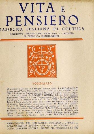 VITA E PENSIERO - 1931 - 10