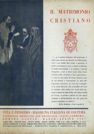 VITA E PENSIERO - 1931 - 3-4