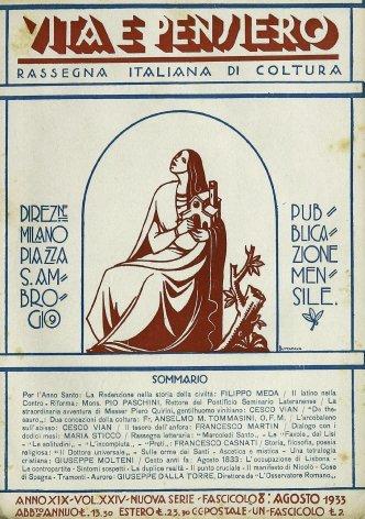 VITA E PENSIERO - 1933 - 8