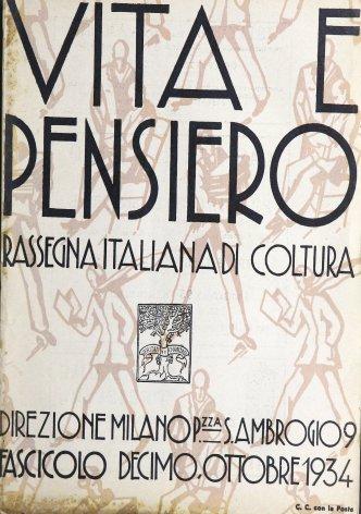 VITA E PENSIERO - 1934 - 10