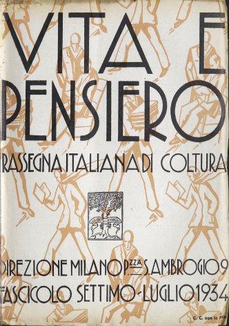 VITA E PENSIERO - 1934 - 7