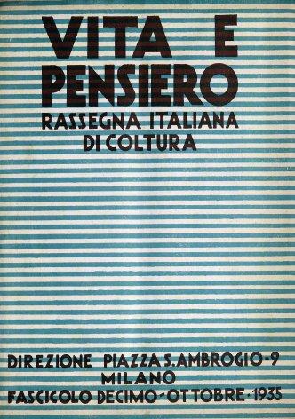 VITA E PENSIERO - 1935 - 10