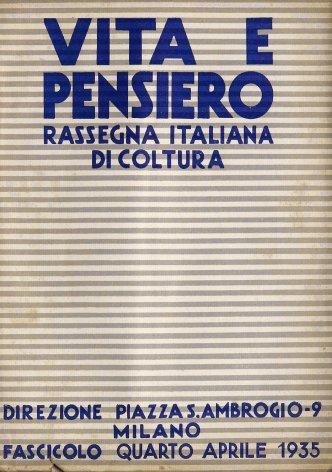 VITA E PENSIERO - 1935 - 4