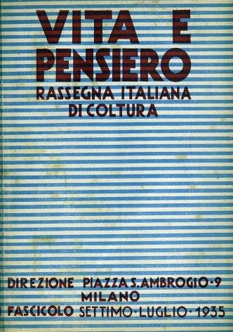 VITA E PENSIERO - 1935 - 7