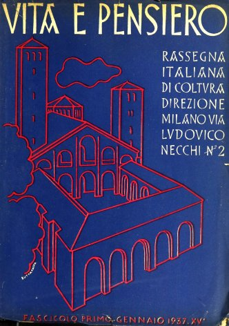 VITA E PENSIERO - 1937 - 1
