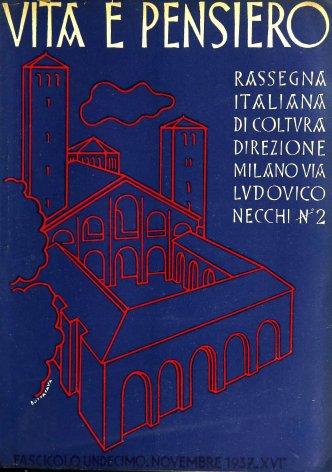 VITA E PENSIERO - 1937 - 11