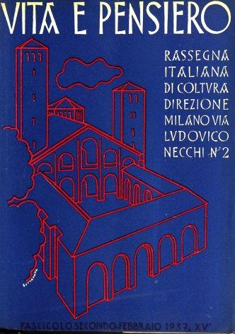 VITA E PENSIERO - 1937 - 2