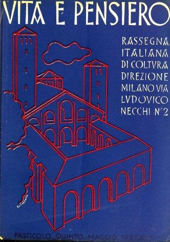 VITA E PENSIERO - 1937 - 5