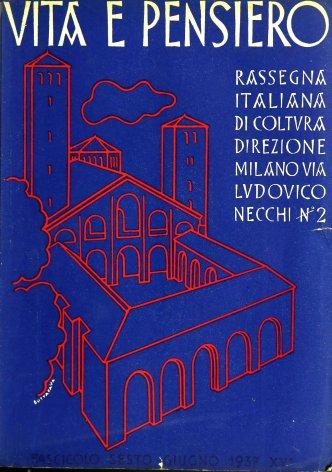 VITA E PENSIERO - 1937 - 6