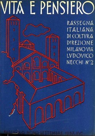 VITA E PENSIERO - 1937 - 9