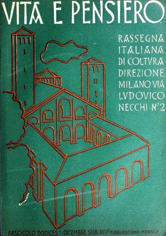 VITA E PENSIERO - 1938 - 12