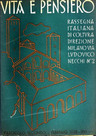VITA E PENSIERO - 1938 - 2