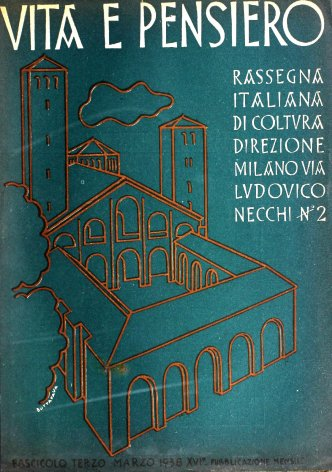 VITA E PENSIERO - 1938 - 3