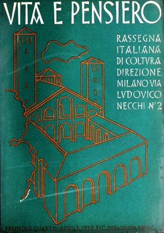 VITA E PENSIERO - 1938 - 4