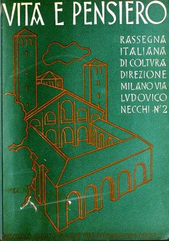 VITA E PENSIERO - 1938 - 5
