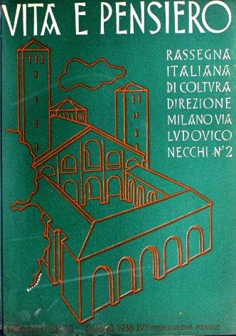 VITA E PENSIERO - 1938 - 6