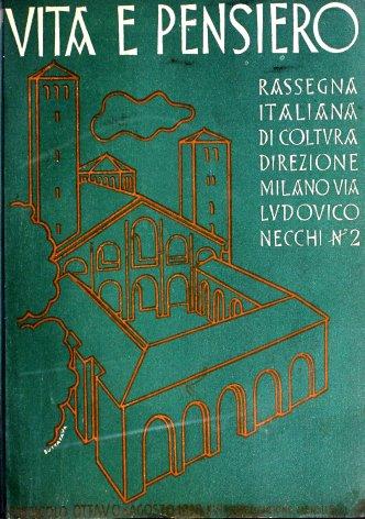 VITA E PENSIERO - 1938 - 8