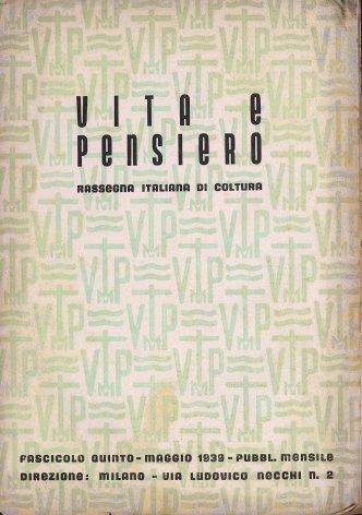 VITA E PENSIERO - 1939 - 5